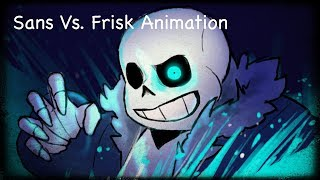Undertale: Sans Vs Frisk Animation