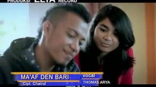 Thomas Arya - Maaf Den Bari (Official Music Video) Lagu Minang Terbaru