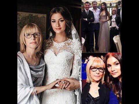 ВЕРА ГЛАГОЛЕВА-её дочь Анастасия Свадьба  (июль 2017)Анастасии и Александра Овечкина(хоккеиста)