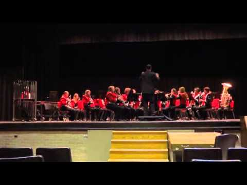 Plainview High School Concert Band Contest in Duncan Oklahoma.