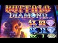 ★NEW ! BUFFALO DIAMOND☆$250 Free Play Live/ Buffalo Diamond Slot (Aristocrat) @San Manuel Casino☆栗スロ