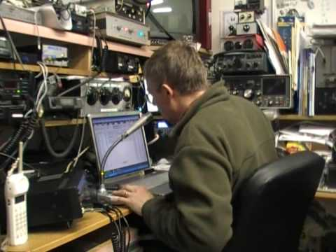 Demonstration of Amateur Radio Contesting in VK