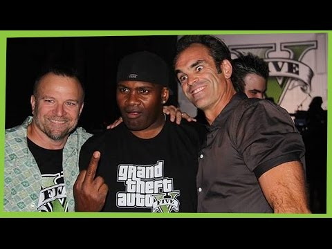 GTA V Actors of Trevor Franklin and Michael interviews and Funny moments