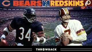 Epic Showdown in the Capitol City! (Bears vs. Redskins, 1984 NFC Divisional))