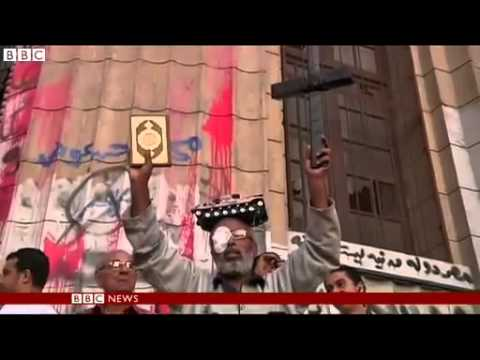 Egypt protest clashes on April 6 Youth Movement anniversary