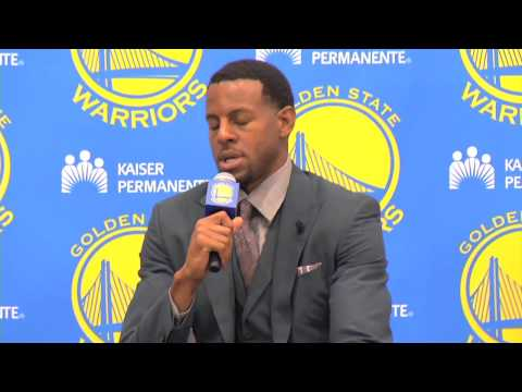 Andre Iguodala Press Conference - 7/11/13