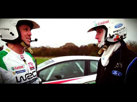 BT SPORT PRESENTER GRAEME SWANN @ WALES RALLY GB 2014