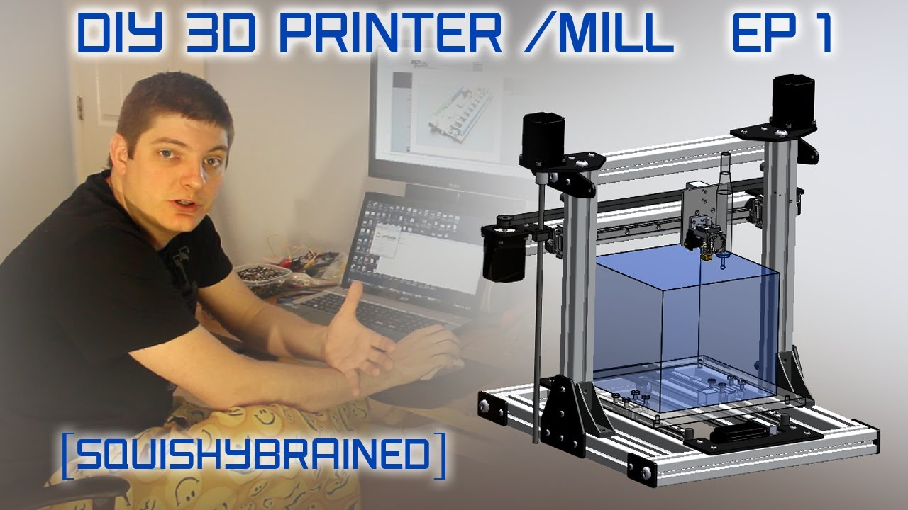 3d Printer Diy Plans Evan's Diy 3d Printer / Mill