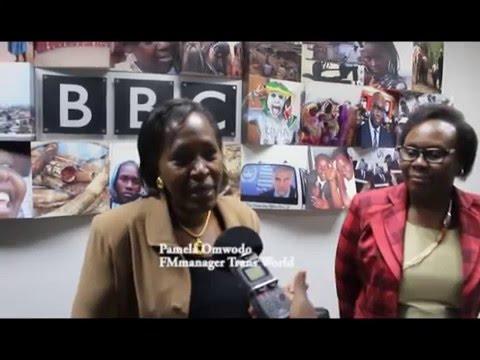 Trans World Radio Kenya (TWR K)- FM'S Get Computers from BBC' s Media Action Program