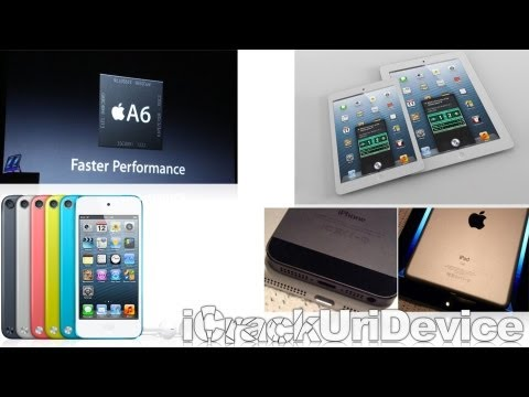 iPod touch 5G Giveaway, New iPad Mini Rumors, iOS News & More