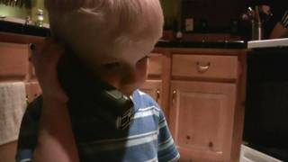 Long distance kiss to Aunt Christy (Now with subtitles!)