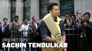 Sachin Tendulkar​ Shows You How to Hold a Cricket Bat