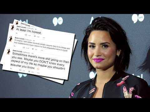 Demi Lovato Bashes Internet Trolls In A Late Night Twitter Rant