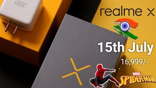 Realme X - launching on 15th July | Price & specifications | Spiderman edition 🔥🔥
