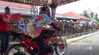 Indonesia Drag Bike SCC Tegal | Drag Motor Ninja Super FFA 250cc Full HD
