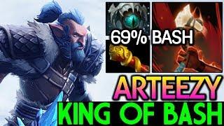 Arteezy [Troll Warlord] King of Bash 7.15 Dota 2