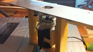 Play seghetto per traforo con pompa alternativa a membrana for Banco fresa autocostruito