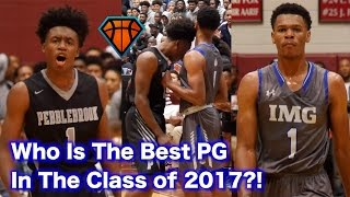 Collin Sexton vs Trevon Duval!! Top Point Guards BATTLE For #1 Spot In The Country!! | IMG vs PBrook