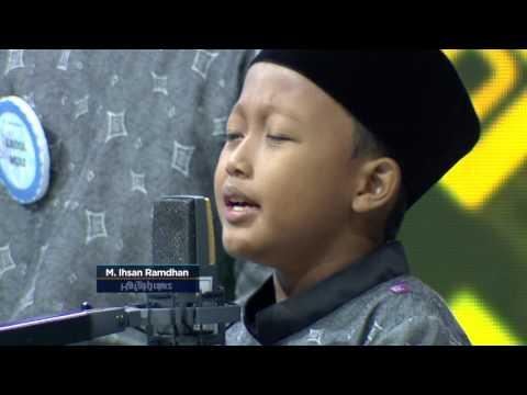Ihsan, 9 Tahun Suara Tilawahnya Bikin Merinding - Semesta Bertilawah