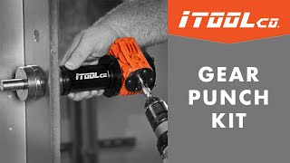 Conduit Knockout Set - iTOOLco's Gear Punch Kit