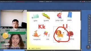 Being an online english teacher (How to Teach English to cute little Kids)