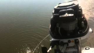 расход топлива лодочного мотора джонсон 15