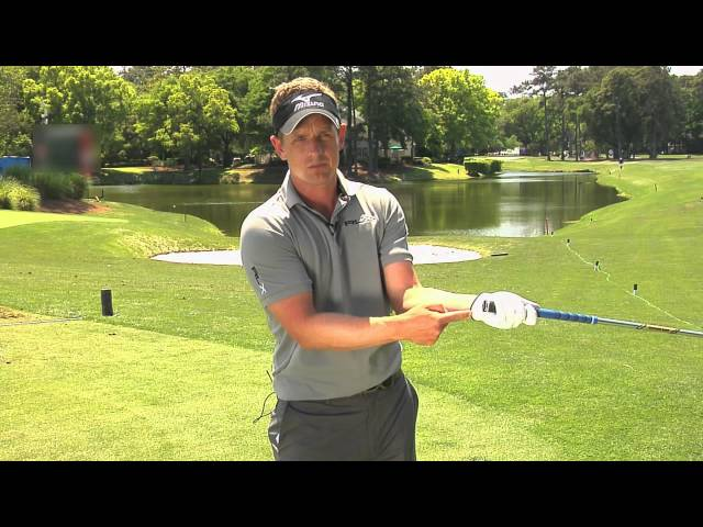 #1 Ranked Golfer Luke Donald Gives Tips on Proper Golf Swing
