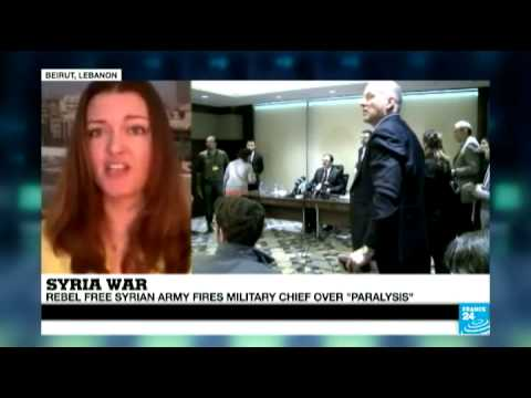 Syria: Opposition replaces its 'ineffective' army chief