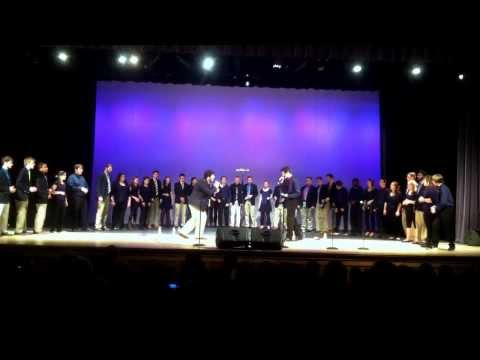 Ithacappella and Northern Lights at Plymouth North High School Performance Arts Center