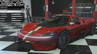 GTA 5 - DLC Vehicle Customization - Grotti Furia and Review