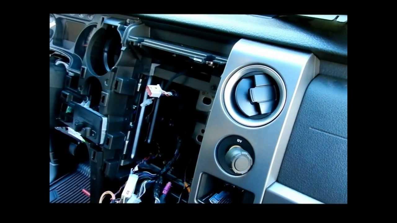 Radio Console For F150 F150 Center Console to Remove