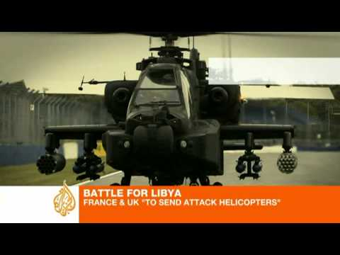 France sends attack choppers to Libya