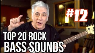 TOP 20 ROCK BASS SOUNDS OF ALL TIME