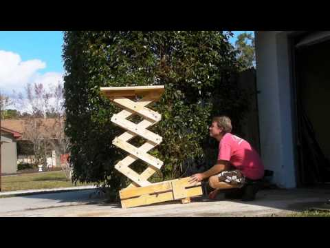 Homemade Scissor Lift