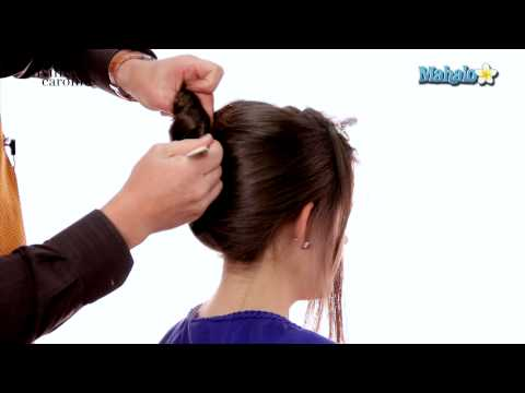 How to Create a Wedding Updo for Medium Length Hair