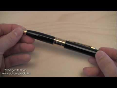 Spionage Kugelschreiber Kamera Testbericht