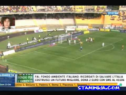 Lecce-Milan 3-4 Highlights Sky Sport 24 HD  23/10/2011