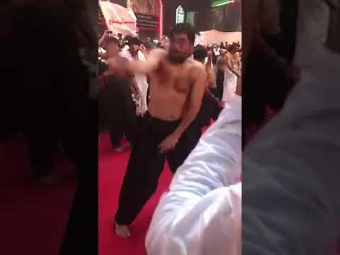 Mir Hassan Mir | Zanjeer Zani Karbala 2018 | Karbala | Ashura 10 Muharam 2018