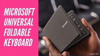 Best keyboard for iPad | Everything about Microsoft Universal foldable keyboard