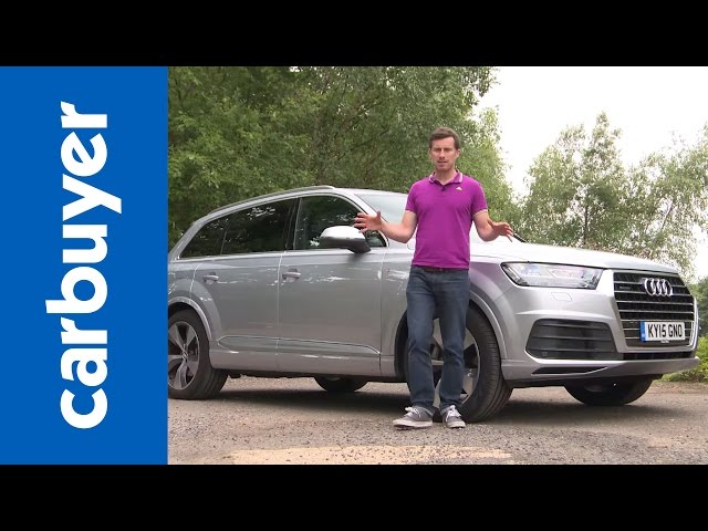 New Audi Q7 SUV review – Carbuyer - YouTube