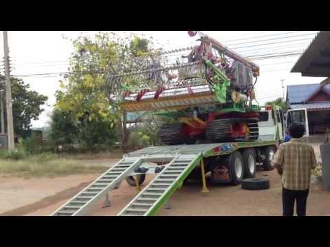 รถเกี่ยวข้าวสามควายไทย 2013
