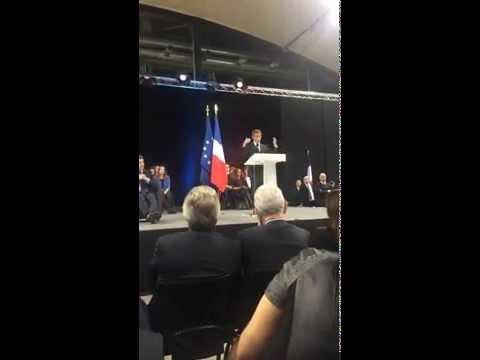 Nicolas Sarkozy évoque l'Alsace à Mulhouse - morceaux choisis