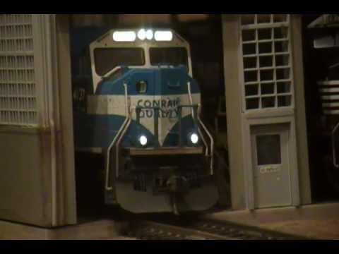 NS Ex-Conrail Kato SD70MAC W/ Sound - HO Scale