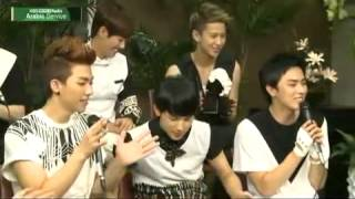 ZE:A Heechul singing Aftermath