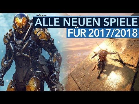 Alle Spiele-Neuankündigungen für 2017/2018 - Neue Spiele auf der E3