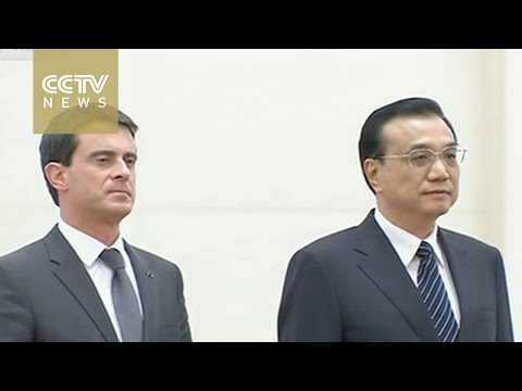 Premier Li Keqiang meets French counterpart
