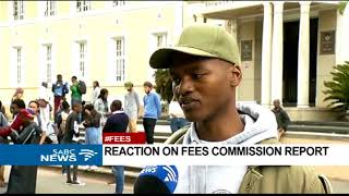 UCT SRC reacts to Fees Commission report