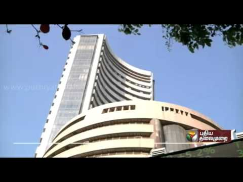Indian stock market starts with rise  today