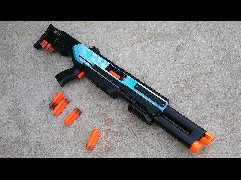 ASG 18 Overview -Nerf Pump Action Shotgun-