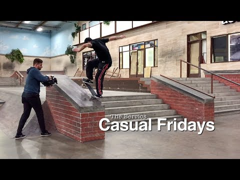 The Berrics Casual Fridays - Episode 12: A Left D3